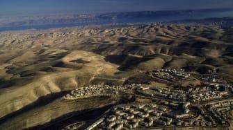 Israeli settlements, 1988