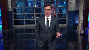 Stephen Colbert dislikes a Trump inaugural parade in Manhattan