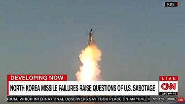 Is the U.S. sabotaging North Korea's missiles?