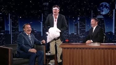 JImmy Kimmel interviews Mike Lindell