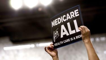 A Medicare sign.