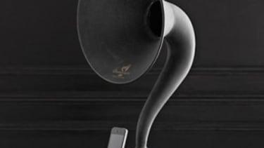 The iPhone gramophone