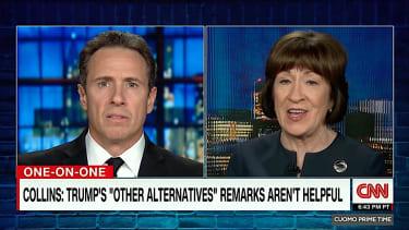 Sen. Susan Collins talks shutdown with CNN's Chris Cuomo