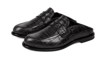 Slip-on loafers.