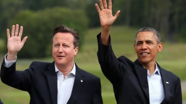 Obama, David Cameron on ISIS: 'We will not be cowed by barbaric killers'