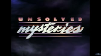 The Unsolved Mysteries logo.