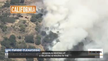 California fire.