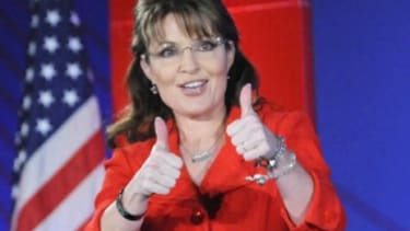 Is a thumbs-up from Palin a blessing or a curse?
