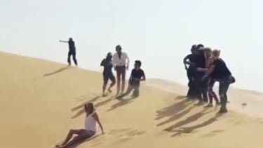 Rod Stewart ISIS-like video.