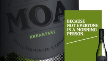 New Zealand's Moa Brewery is banking on a belief that a cherry-flavored lager will catch on as a breakfast and brunch option.