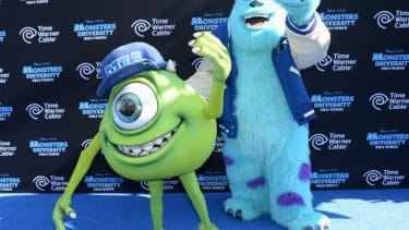 Mike Wazowski and James Sullivan from Monsters, Inc.