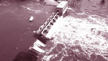 The Sanford Dam.