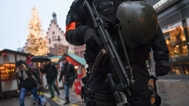 Police in Berlin guard market where deadly truck attack happened