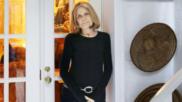 Gloria Steinem, at her home in New York, 2015.
