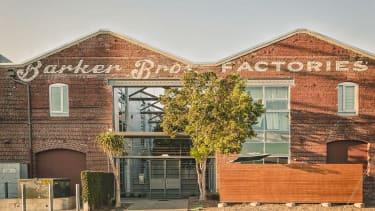 The former Barker Bros. warehouse.