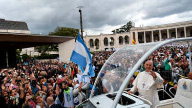 Pope Francis in Fatima, Portugal