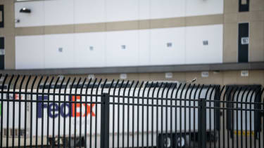 Indianapolis FedEx facility that was the site of a mass shooting.
