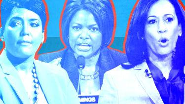 Vice presidential contenders.