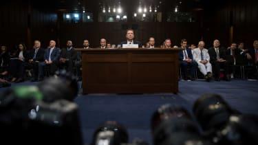 James Comey testifies before the Senate