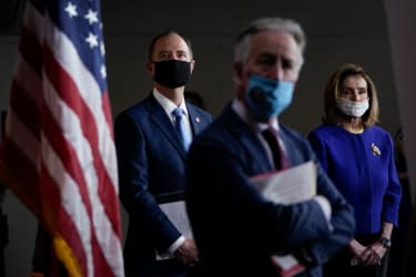 Reps. Adam Schiff, Richard Neal, Nancy Pelosi