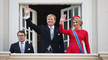 King Willem-Alexander and Queen Maxima of the Netherlands.