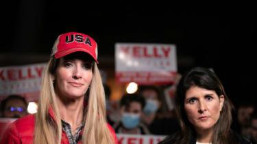 Kelly Loeffler and Nikki Haley.