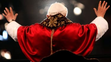 Pope Benedict XVI is the first pope to resign in 600 years.