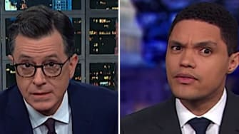 Late night hosts on Trump obstructing Congress