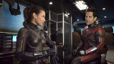 Evangeline Lilly and Paul Rudd.