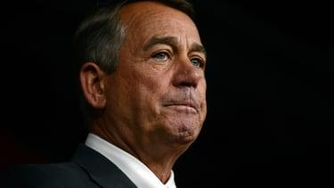 John Boehner says Cruz is the devil in the flesh.
