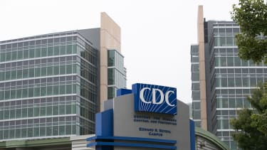 Exterior of the Center for Disease Control (CDC) headquarters is seen on October 13, 2014 in Atlanta, Georgia.