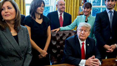 President Trump executive order revoked visas.
