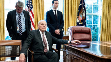 John Kelly gives an exit interview