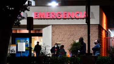 An emergency room in Los Angeles County.