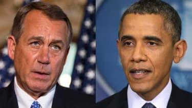 Boehner, Obama