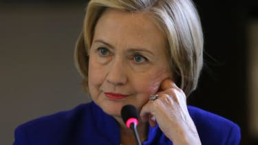 Poll: Hillary Clinton's lead over 2016 Republican hopefuls is slipping