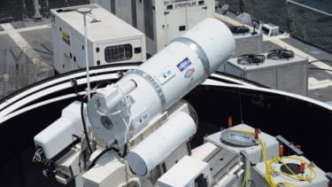 U.S. Navy cannon
