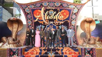 The cast of Aladdin.