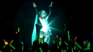 Despite her lack of lungs, a 3-D hologram named Hatsune Miku has become one of Japan's most popular singers.