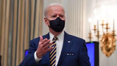 Biden talks about COVID-19