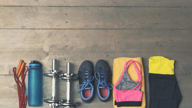 Take advantage of inexpensive gym equipment in the spring.
