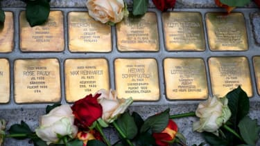 The names of Austrian Jews who died in the Holocaust.