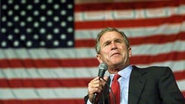 George W. Bush in 2000.