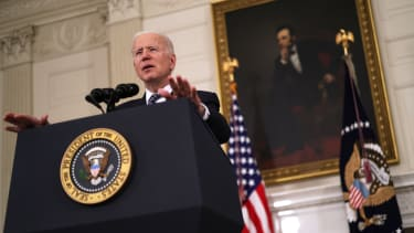 Biden talks about the vaccine rollout