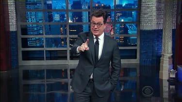 Stephen Colbert mocks Trump and ISIS