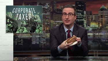 John Oliver on corporate taxes