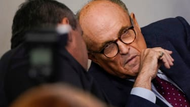 Rudy Giuliani and Chris Christie