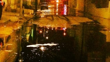 Los Angeles neighborhood submerged 'knee high' after broken pipe gushes oil