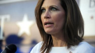 Rep. Michelle Bachmann (R-Minn.) says she will not back down from her (unfounded) claim that people with ties to Muslim extremists have infiltrated the federal government.