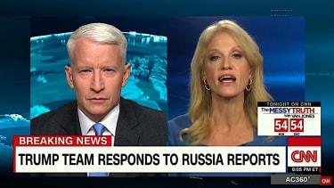 Kellyanne Conway battles Anderson Cooper